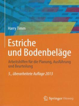 Fachbuch Estrich und Bodenbeläge